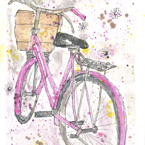 Bicycle in Pink | Jane Martin