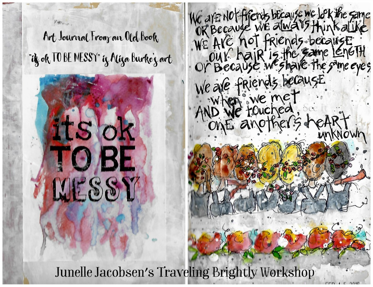Junelle Jacobsen's Traveling Brightly - Friendship by Jane Martin | Mary Jane's Studio