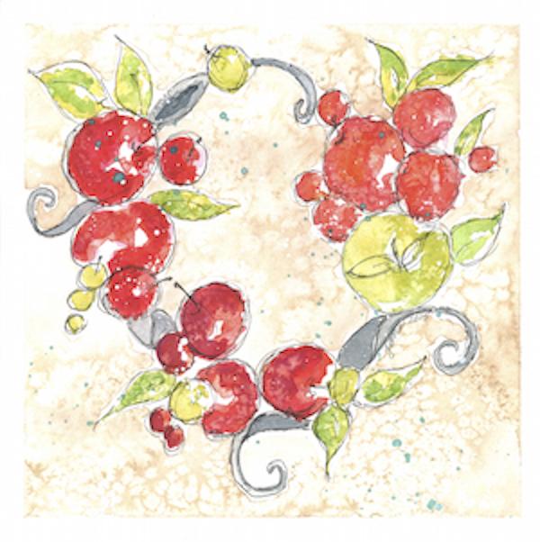 Tomato Wreath by Jane Martin