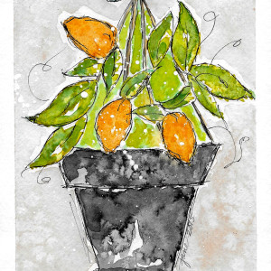 But, God Gave the Growth by Jane Martin | Watercolor Original Painting