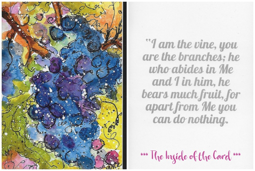 I Am the Vine You Are the Branches Product Collage
