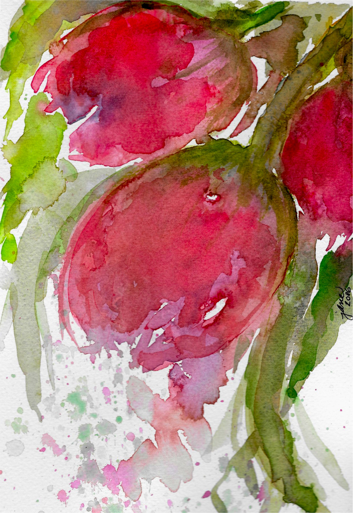 Tulip Dream by Jane Martin.Original Watercolor Painting.jpg