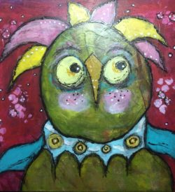 bad-hair-day-dirty-flirty-bird-by-jane-martin-original-acrylic-painting