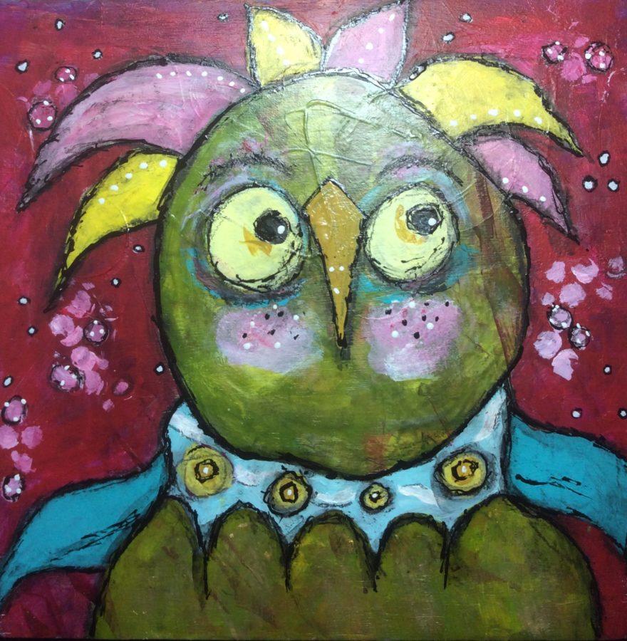 bad-hair-day-dirty-flirty-bird-by-jane-martin-original-acrylic-painting