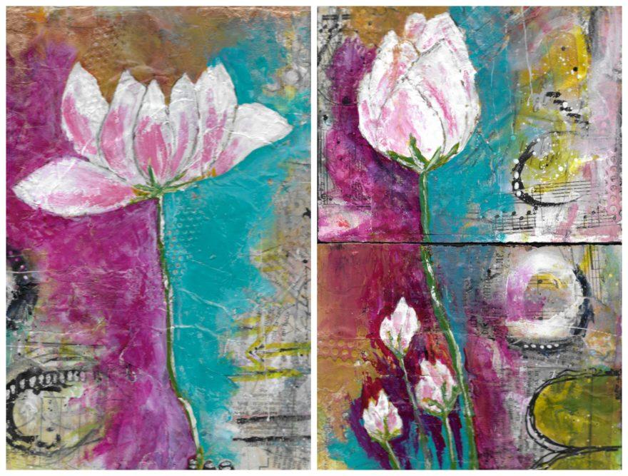 lotus-flower-collage