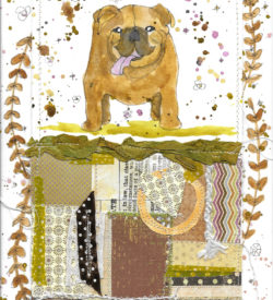 no-bull-dog-by-jane-martin-original-mixed-media-painting